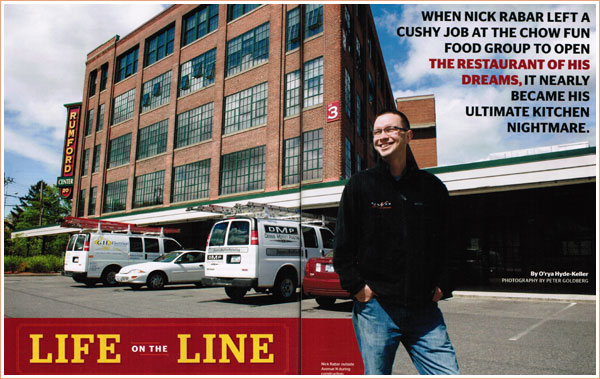 Life on the Line | ri monthly